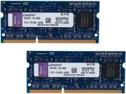 Kingston 8GB 204-Pin DDR3 SO-DIMM DDR3 1333 Laptop Memory Model KVR13S9S8K2/8