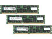 Kingston 48GB (3 x 16GB) 240-Pin DDR3 SDRAM DDR3 1333 (PC3 10600) ECC Registered Memory Model KTD-PE313Q8LVK3/48G