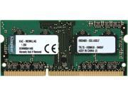 Kingston 4GB 204 Pin DDR3 SO DIMM Memory