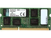 Kingston 8GB 204-Pin DDR3 SO-DIMM ECC DDR3 1333 (PC3 10600) Server Memory Model KVR13LSE9/8