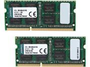 Kingston 16GB (2 x 8GB) 204-Pin DDR3 SO-DIMM DDR3 1600 (PC3 12800) Memory for Apple Model KTA-MB1600LK2/16G