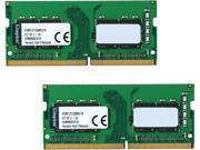 Kingston ValueRAM 16GB (2 x 8G) DDR4 2133 Laptop Memory SODIMM (260-Pin) RAM KVR21S15S8K2/16