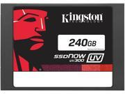 "Kingston SSDNow UV300 2.5"" 240GB SATA III TLC Internal Solid State Drive (SSD) SUV300S37A/240G"