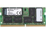Kingston ValueRAM 16GB 2133MHz DDR4 ECC CL15 SODIMM 2Rx8 (Notebook Memory) KVR21SE15D8/16