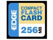 EDGE Tech 256MB Compact Flash (CF) Flash Media Model PE179472