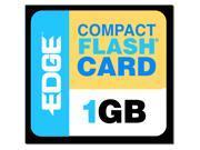 EDGE Tech EDGE Premium 1GB Compact Flash (CF) Flash Media Model PE188993