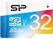 Silicon Power  Elite  32GB  microSDHC  Flash CardModel SP032GBSTHBU1V20SP