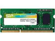 Silicon Power 4GB 204-Pin DDR3 SO-DIMM DDR3L 1600 (PC3L 12800) Laptop Memory Model SP004GLSTU160N02