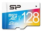 Silicon Power 128GB Elite microSDXC UHS-I/U1 Class 10 Memory Card with Adapter, Speed Up to 75MB/s (SP128GBSTXBU1V20NE)