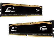 Team Elite Plus 16GB (2 x 8GB) 288-Pin DDR4 SDRAM DDR4 2133 (PC4 17000) Desktop Memory Model TPD416GM2133HC15DC01
