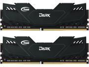 Team Dark 16GB (2 x 8GB) 288-Pin DDR4 SDRAM DDR4 3000 (PC4 24000) Desktop Memory Model TDKED416G3000HC16ADC01