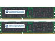 HP 8GB (2 x 4GB) 240-Pin DDR2 SDRAM DDR2 667 (PC2 5300) ECC Registered System Specific Memory Model 408854-B21