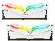 Team T-Force Night Hawk RGB 16GB (2 x 8GB) 288-Pin DDR4 SDRAM DDR4 3200 (PC4 25600) Memory (Desktop Memory) Model TF2D416G3200HC16CDC01