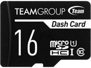 Team 16GB Dash Card microSDHC UHS-I/U1 Class 10 Memory Card with Adapter, Speed Up to 80MB/s (TDUSDH16GUHS03)