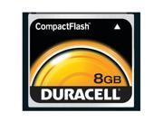 Duracell 8GB Compact Flash (CF) Flash Card Model DU-CF-8192-R