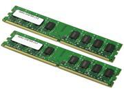 Visiontek 4GB (2 x 2GB) 204-Pin DDR SO-DIMM DDR2 800 (PC2 6400) Desktop Memory Model 900471