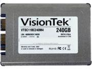 "VisionTek Go Drive 1.8"" 240GB SATA III MLC Internal Solid State Drive (SSD) 900756"