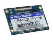 "SUPER TALENT 1.3"" 32GB IDE ZIF MLC Internal Solid State Drive (SSD) FEM32GF13M"