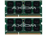 Axiom 8GB (2 x 4GB) 204-Pin DDR3 SO-DIMM DDR3 1066 (PC3 8500) Unbuffered System Specific Memory Model MC448G/A-AX
