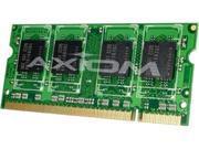 Axiom 2GB (2 x 1GB) 200-Pin DDR2 SO-DIMM DDR2 667 (PC2 5300) Laptop Memory Model AX16791052/2