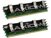 Axiom 8GB (2 x 4GB) 240-Pin DDR2 SDRAM ECC Fully Buffered DDR2 800 (PC2 6400) Server Memory Model AX18691993/2