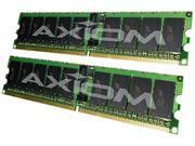 Axiom 8GB (2 x 4GB) 240-Pin DDR2 SDRAM ECC Registered DDR2 400 (PC2 3200) Server Memory Model AXG11691177/2