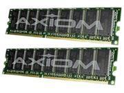 Axiom 2GB (2 x 1GB) 184-Pin DDR SDRAM DDR 333 (PC 2700) Memory Model AXR333N25Q/2GK