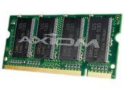 Axiom 1GB 200-Pin DDR SO-DIMM DDR 266 (PC 2100) Laptop Memory Model KTT3614/1G-AX