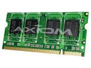 Axiom 1GB 200-Pin DDR2 SO-DIMM DDR2 800 (PC2 6400) Unbuffered Memory Model PA3668U-1M1G-AX