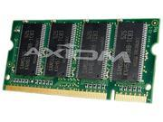 Axiom 1GB 200-Pin DDR SO-DIMM DDR 266 (PC 2100) Laptop Memory Model FPCEM118AP-AX