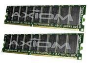 Axiom 2GB (2 x 1GB) 184-Pin DDR SDRAM DDR 400 (PC 3200) Desktop Memory Model M9298G/A-AX