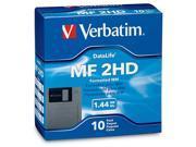 """Verbatim 87410 1.44MB 10 Packs 3.5"""" Floppy Diskette"""