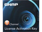 QNAP LIC-CAM-NAS-1CH 1 Camera License Activation Key for Surveillance Station Pro for QNAP NAS
