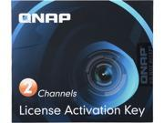 QNAP LIC-CAM-NAS-2CH 2 Camera License Activation Key for Surveillance Station Pro for QNAP NAS