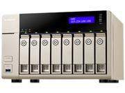 QNAP TVS-863-8G-US Diskless System 8-bay-8GB DDR3L-1600 x 1 Affordable 10GbE-ready Golden Cloud Turbo vNAS