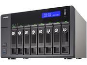 QNAP TVS-871-PT-4G-US High-performance Turbo vNAS with 4K video playback and transcoding