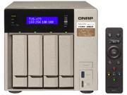 QNAP TVS-473-16G-US 4-bay NAS/iSCSI IP-SAN, AMD R Series Quad-core 2.1 GHz, 16GB RAM, 10G-ready