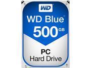 WD Blue 500GB Desktop Hard Disk Drive - 7200 RPM SATA 6 Gb/s 16MB Cache 3.5 Inch - WD5000AAKX 9SIA4A04RN3867