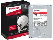 Toshiba 2TB Internal SATA Hard Drive for Desktops Black/Silver HDWD120XZSTA