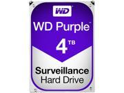 WD Purple 4TB Surveillance Hard Disk Drive - Intellipower SATA 6 Gb/s 64MB Cache 3.5 Inch - WD40PURX