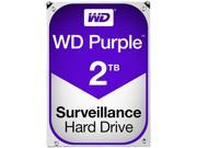 WD Purple 2TB Surveillance Hard Disk Drive - Intellipower SATA 6 Gb/s 64MB Cache 3.5 Inch - ...