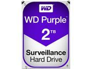 WD Purple 2TB Surveillance Hard Disk Drive 5400 RPM Class SATA 6Gb s 64MB Cache 3.5 Inch WD20PURX