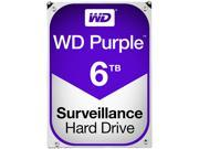 WD Purple 6TB Surveillance Hard Disk Drive - Intellipower SATA 6 Gb/s 64MB Cache 3.5 Inch - WD60PURX