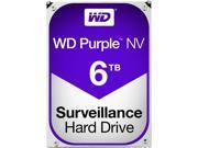 WD Purple NV 6TB Surveillance Hard Disk Drive - 5400 RPM Class SATA 6Gb/s 64MB Cache 3.5 Inch - WD6NPURX