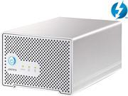 "AKiTiO Neutrino Thunder Duo 2 x 1TB 2.5"" Thunderbolt x 2 Mac Storage Model AK-NEU2-TIS-AKT1UH"