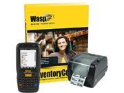 Wasp Barcode Inventory Control RF Pro Inventory Tracking Solution with DT60 (Numeric) & WPL305 - 5 User