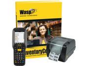 Wasp Barcode Inventory Control RF Pro Inventory Tracking Solution with DT90 WPL305 5 Users