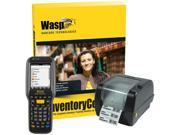Wasp Barcode Inventory Control RF Enterprise Inventory Tracking Solution with DT90 WPL305 Unlimited Users