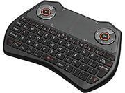 ADESSO SlimTouch 4020 WKB-4020UB Black RF Wireless Keyboard with Touchpad