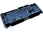 ENHANCE GX-K2 LED Gaming Keyboard with Hybrid Switches , 104+ Keys & 3 Switchable Backlight Colors